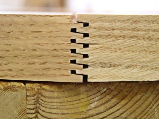 การต่อแบบ Finger Joint