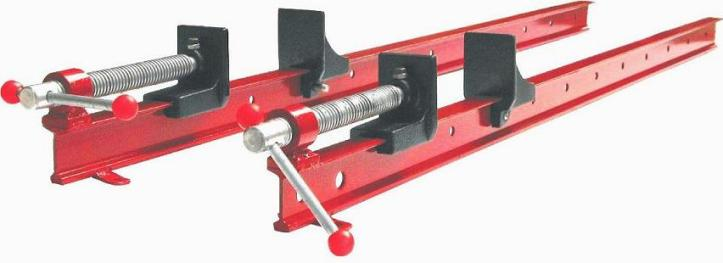 I bar clamp